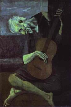Голубой период Пикассо.