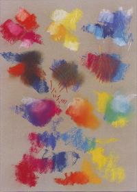 Пастель и цветные мелки.