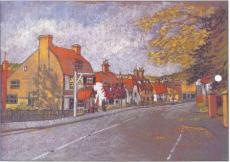 Вуличка в графстві Кент - уроки малювання