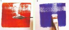 Лессировка масляными красками