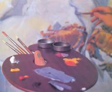 Знакомство с масляными красками