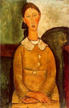 Портрет в стиле Амедео Модильяни