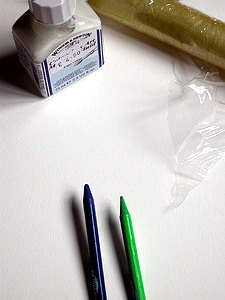 Создание фактур и «сохранение белого» в акварели. Часть4. Использование masking fluid.