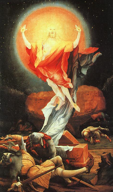 """Грюневальда """"Воскресение Христа"""""""