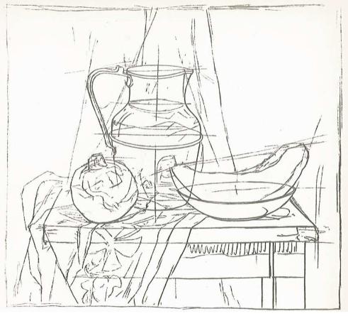 Рис. 2 — Рисунок натюрморта