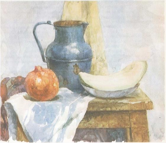 Рис. 4 — Законченный этюд натюрморта