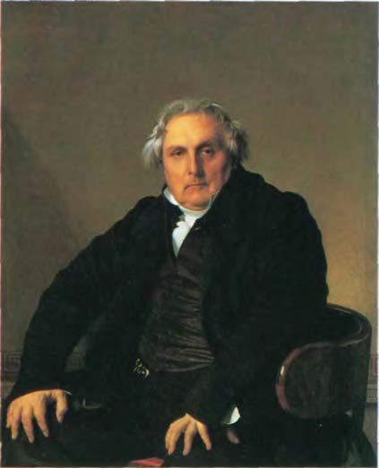 341. Жан-Огюст-Доминик Энгр. «Луи Бертен». 1832 г. Холст, масло. 116,8 х 95,3 см. Лувр. Париж